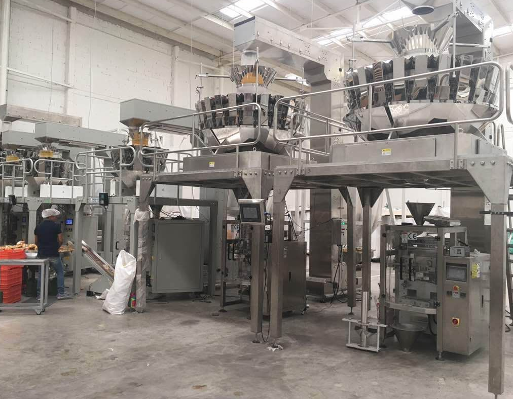 24 head multihead weigher packing system
