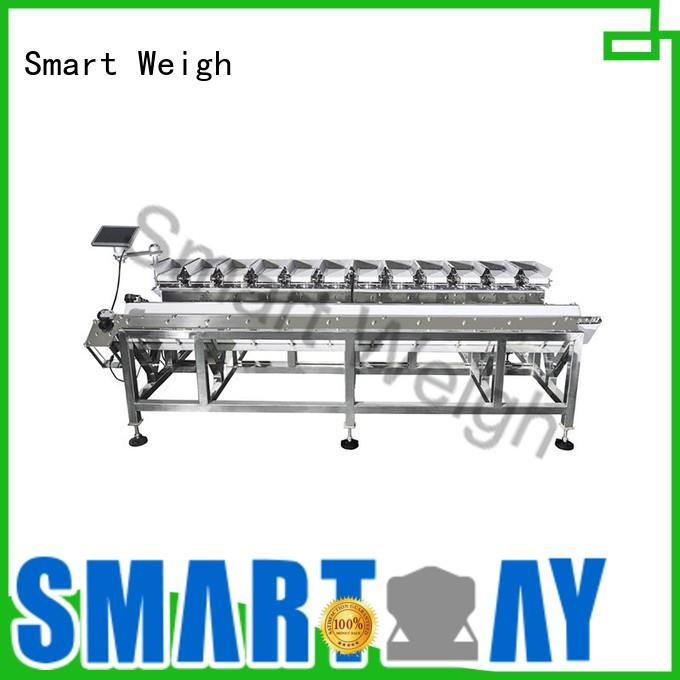 steady multihead weigher packing machine linear from China for food weighing