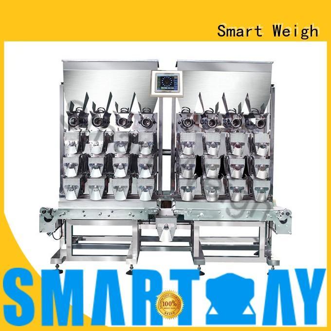 Smart Weigh precise multihead weigher customization for foof handling