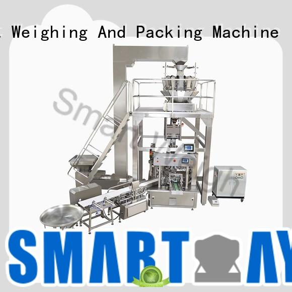 Smart Weigh linear luggage packing system with good price for foof handling