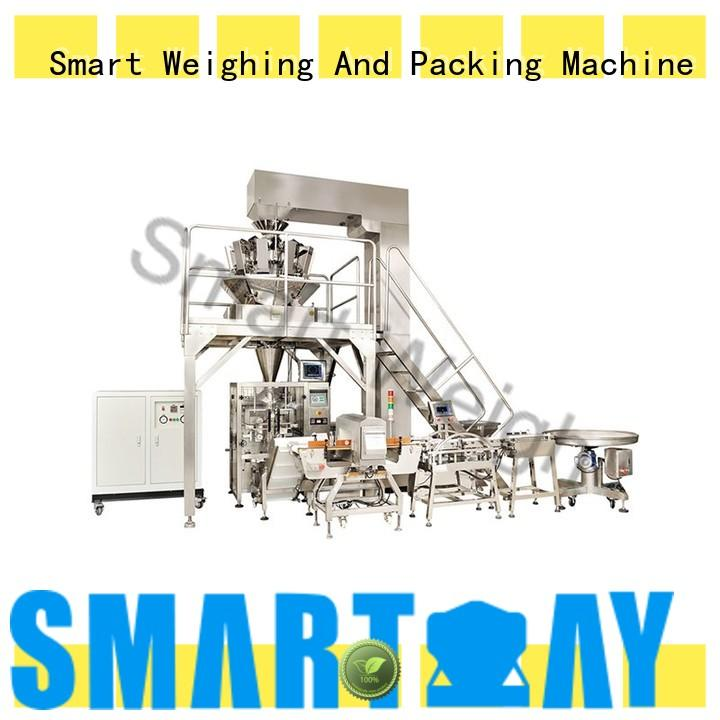 Smart Weigh semiautomatic smart packaging system inquire now for food weighing