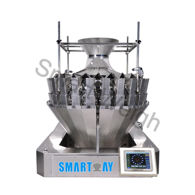 Smart Weigh Smart Weigh SW-M24 Two Mixture 24 Head Multihead Weigher Multihead Weigher image11