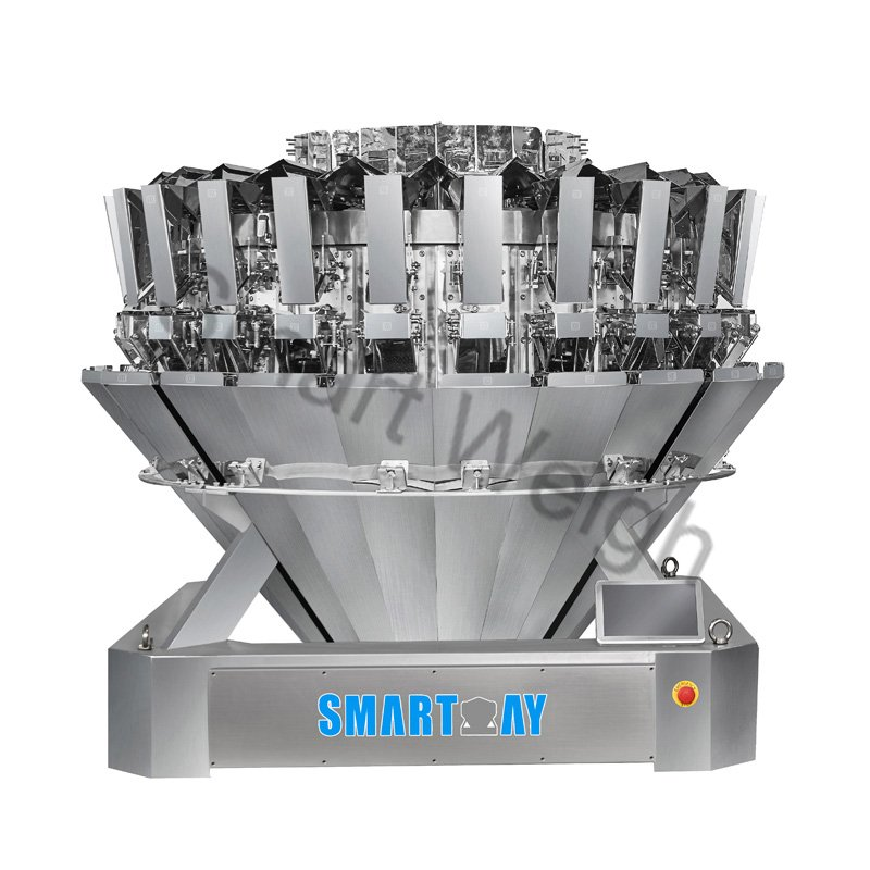 Smart Weigh Smart Weigh SW-M324 Four or Six Mixture 24 Head Multihead Weigher Multihead Weigher image10