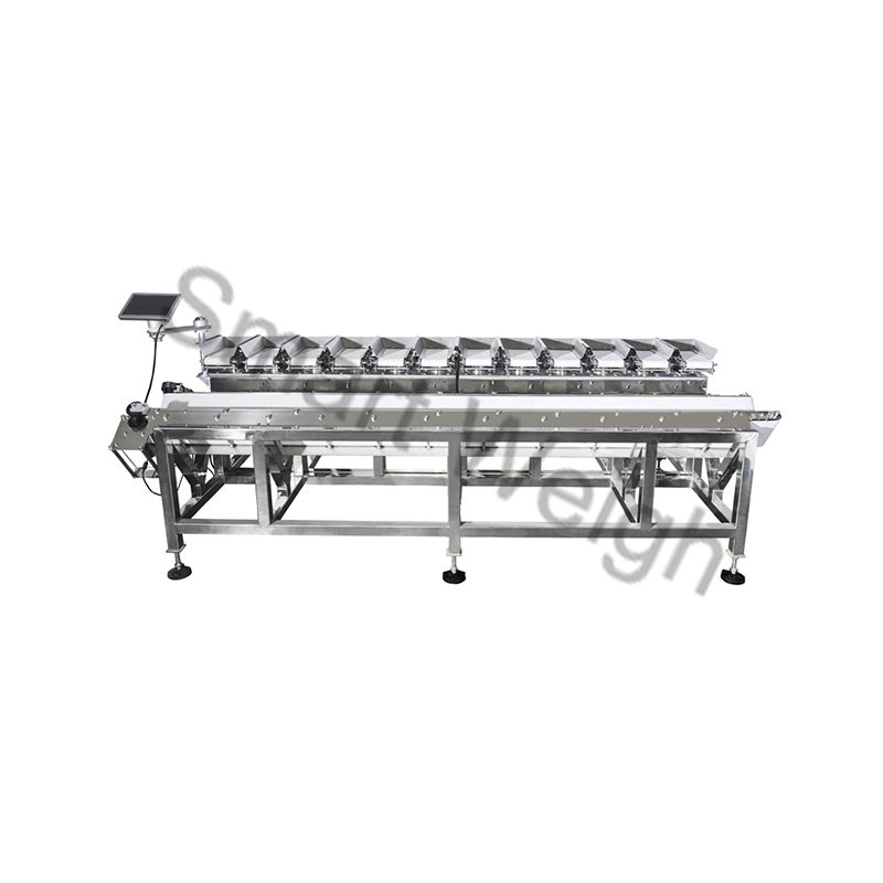 Smart Weigh Smart Weigh  SW-LC12V  V Shape 12 Head Linear Combination Weigher Linear Combination Weigher image1