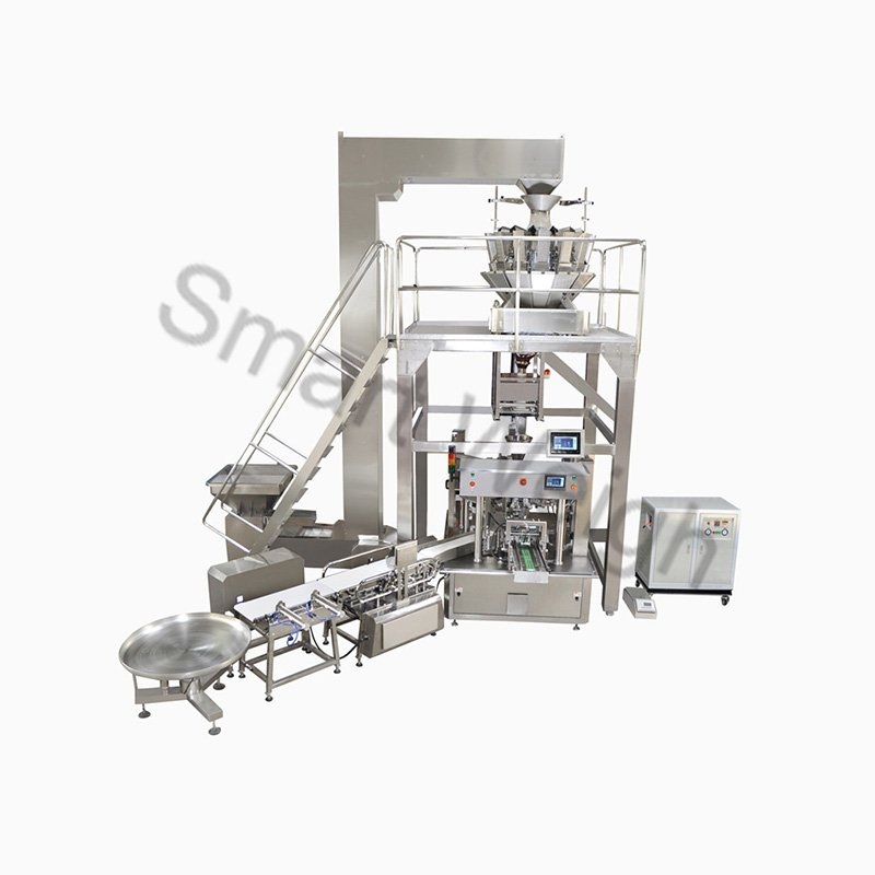 Smart Weigh Smart Weigh SW-PL6 Premade Bag Packing System Packing System image3
