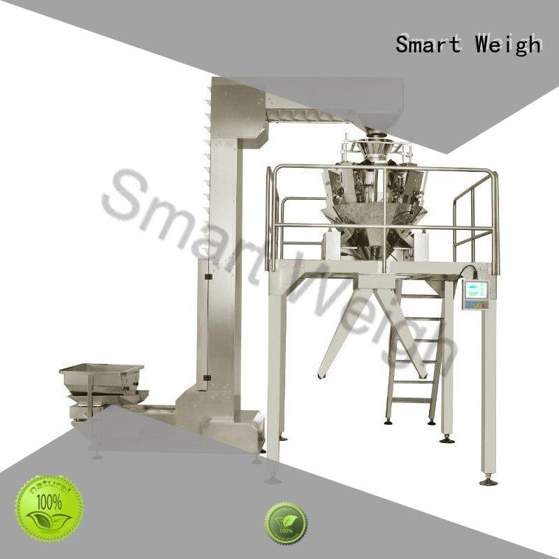 Smart Weigh adjustable packaging automation systems customization for food labeling