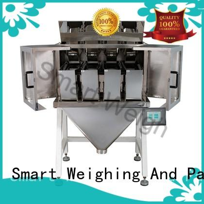 Smart Weigh filling linear weighing machine from China for foof handling