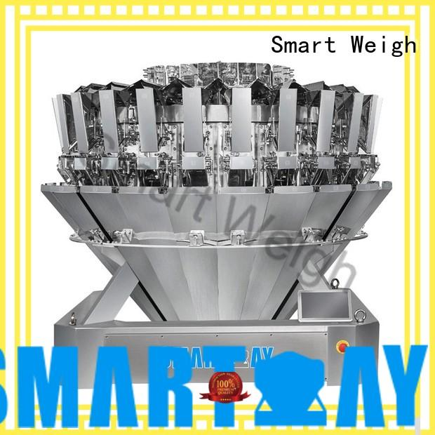 Smart Weigh discharge multihead weigher from China for food weighing
