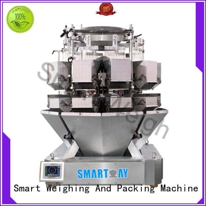 Hot salad multihead weigher packing machine accurate Smart Weigh Brand