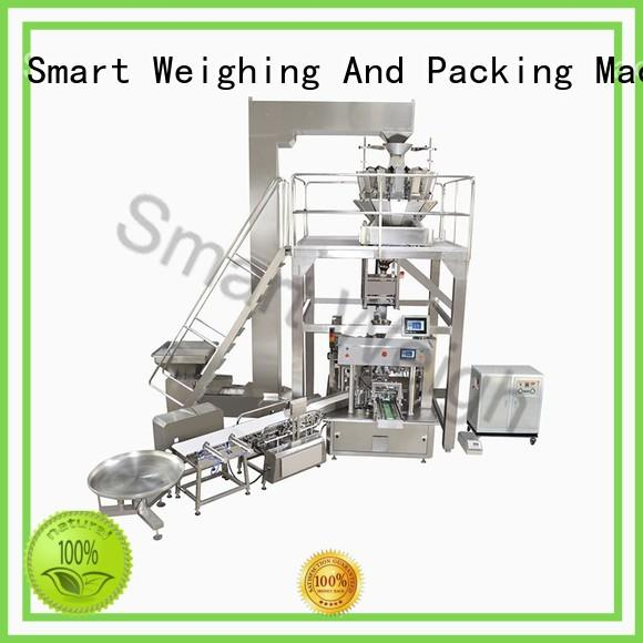 Smart Weigh Brand measure multihead automated packaging systems semiautomatic factory
