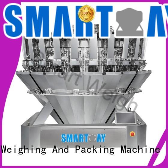 Smart Weigh eco-friendly multihead weigher packing machine widely use for food labeling