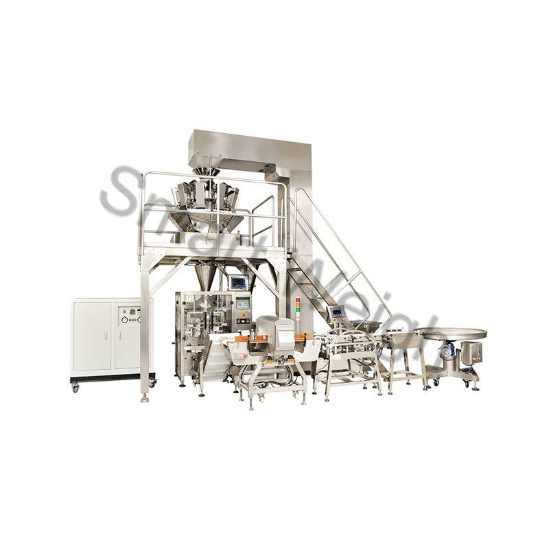 eco-friendly multihead weigher packing machine China supplier for food weighing-1