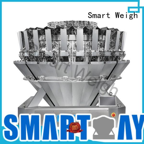 eco-friendly multihead weighing machine tinbottle factory price for food labeling
