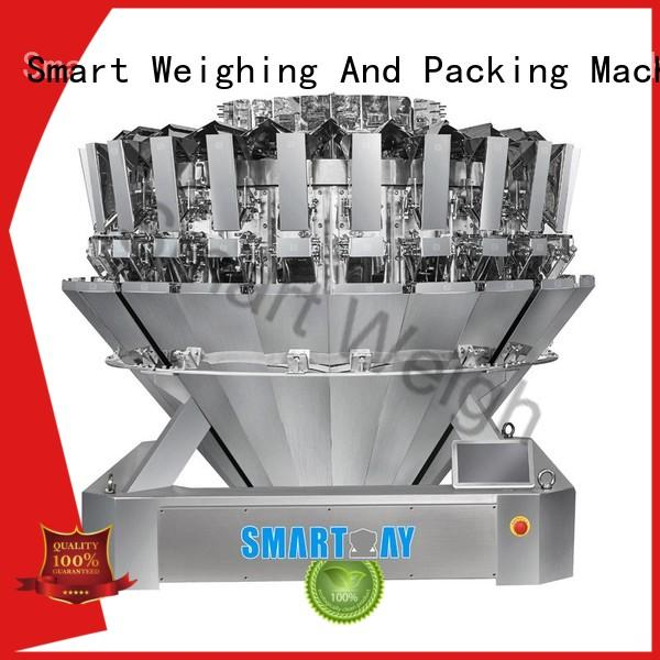 Smart Weigh salad multihead weigher packing machine for sale with good price for food packing