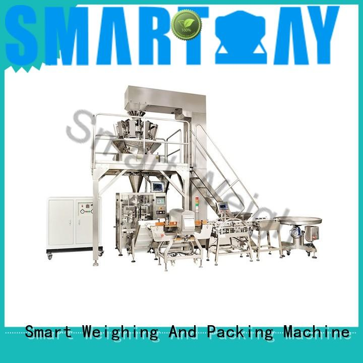 Smart Weigh high quality multihead weigher packing machine long-term-use for foof handling