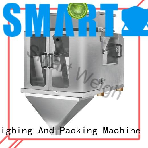 Smart Weigh linear 4 head linear weigher for food labeling