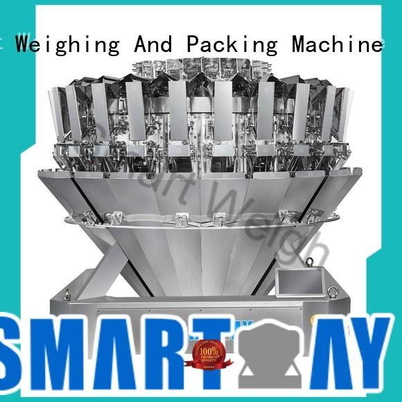 Smart Weigh Brand smart salad multihead weigher speed factory
