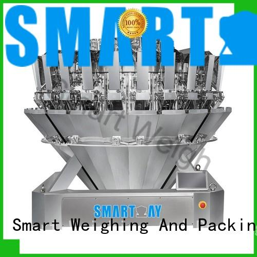 Smart Weigh inexpensive multihead checkweigher mixture for foof handling