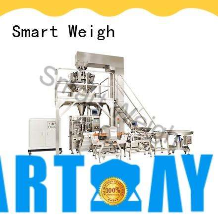 Smart Weigh machine integrated packaging systems with good price for foof handling