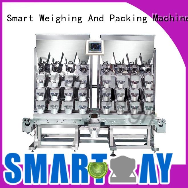Smart Weigh Brand automatic certified hardware screw combination weigher manufacture