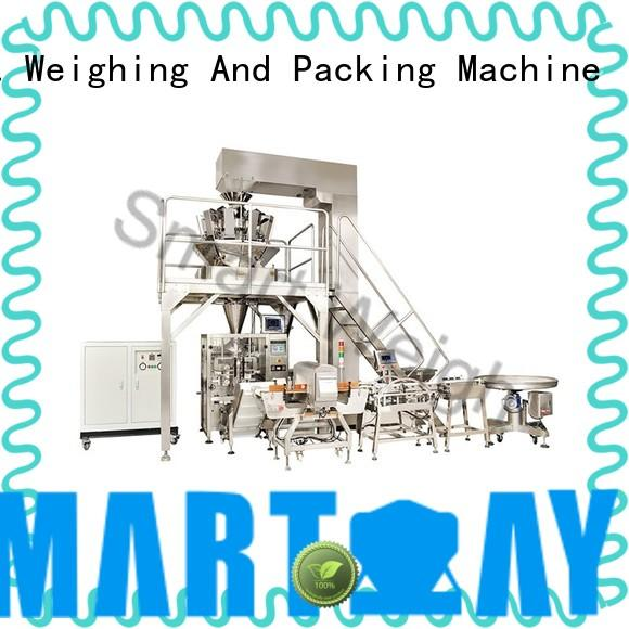 eco-friendly multihead weigher packing machine China supplier for food weighing