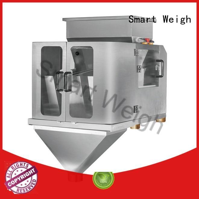 Smart Weigh linear 4 head linear weigher customization for foof handling