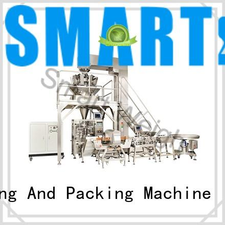 Custom measure vertical automated packaging systems Smart Weigh semiautomatic