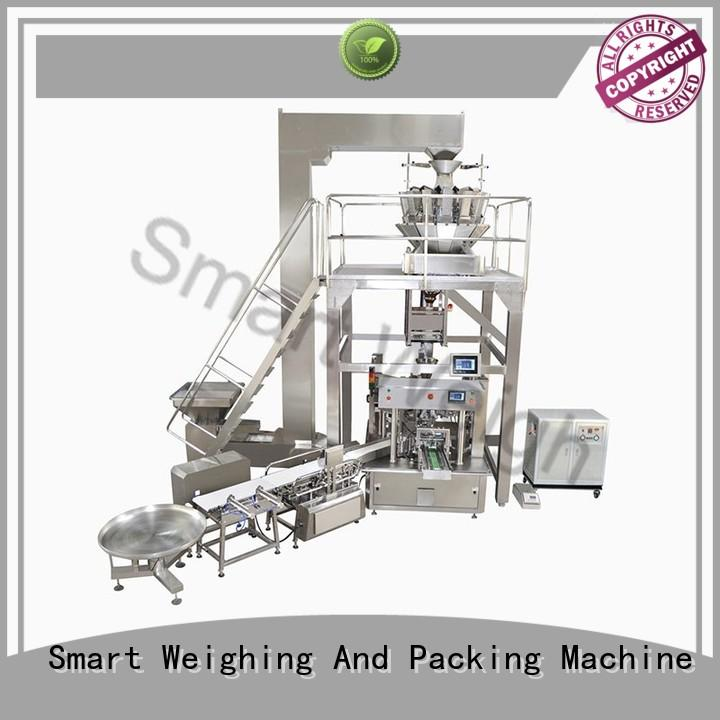 Quality Smart Weigh Brand multihead premade automated packaging systems
