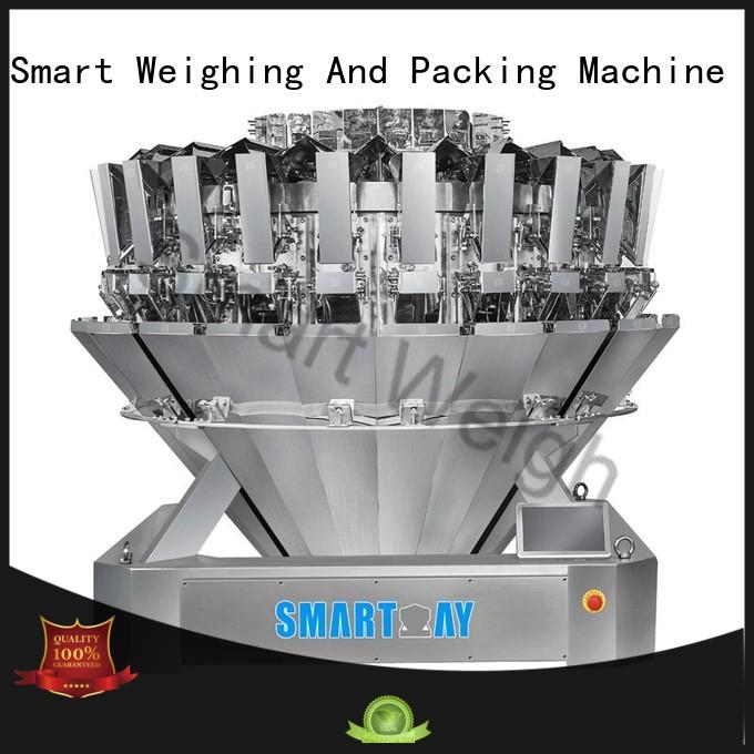 eco-friendly multi head weigher for vegetable factory price for food labeling
