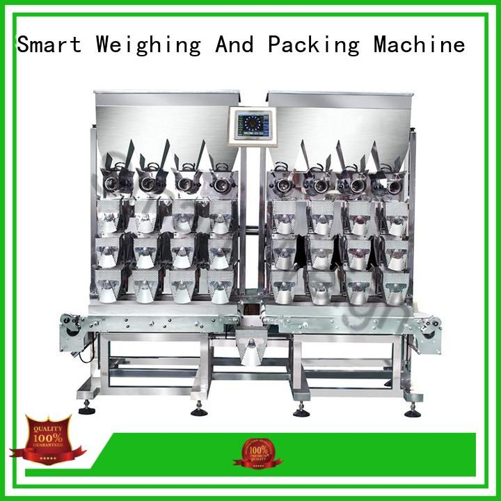 Smart Weigh easy-operating multihead weigher packing machine from China for food labeling