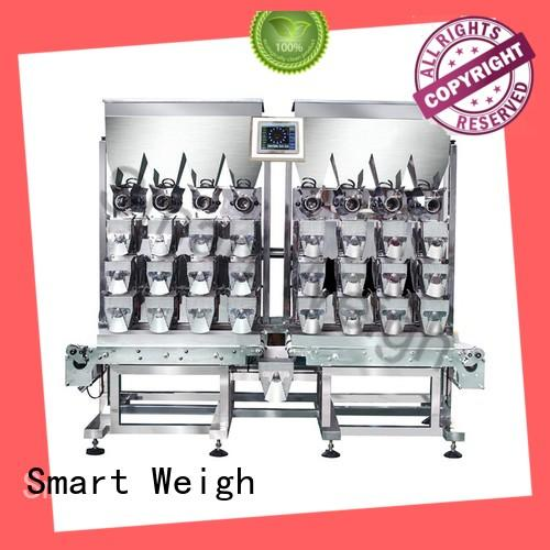 adjustable linear head weigher linear customization for food labeling