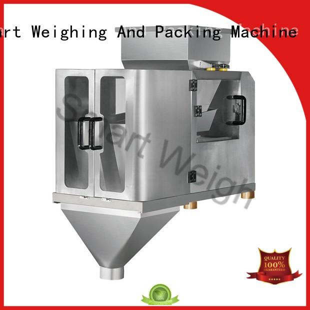 Smart Weigh weigh 4 head linear weigher from China for foof handling