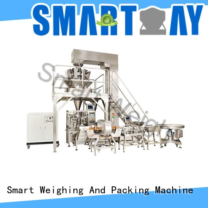 Smart Weigh steady automated packaging machine China manufacturer for food weighing