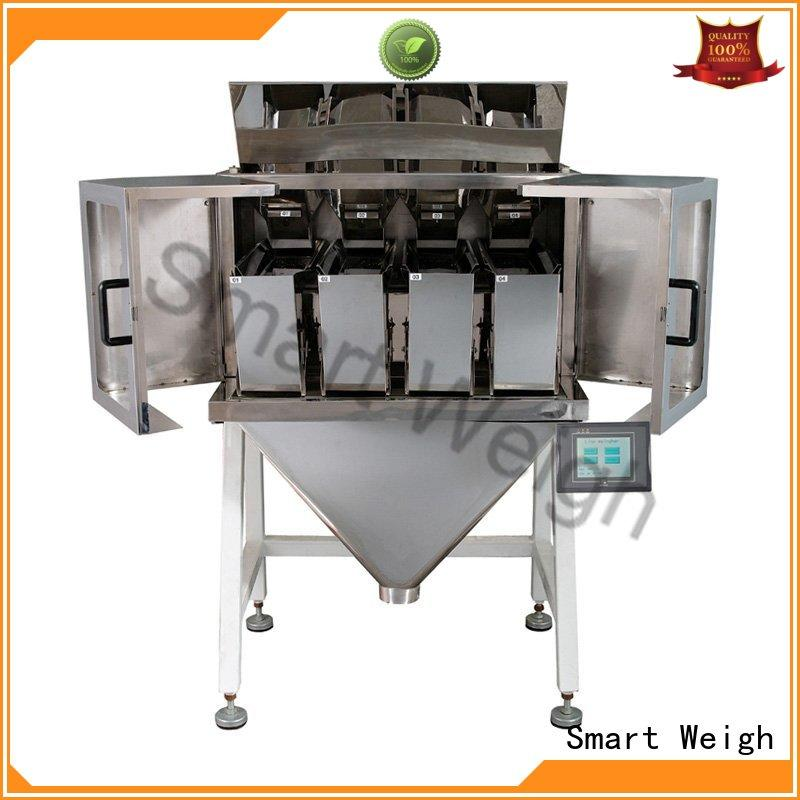 steady linear weigher weigh customization for food packing