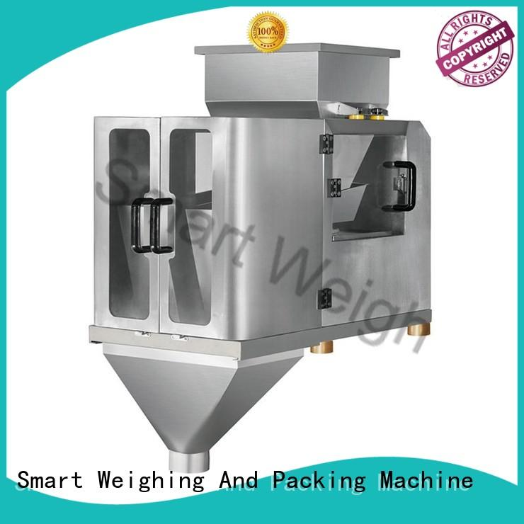 Smart Weigh easy-operating 2 head linear weigher for food weighing