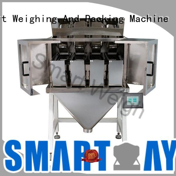 Smart Weigh eco-friendly 4 head linear weigher customization for foof handling