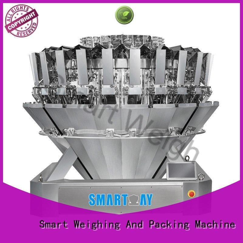 easy-operating multihead checkweigher discharge directly sale for food labeling