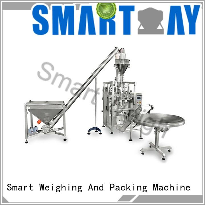 steady weighing packing system multihead factory price for food labeling