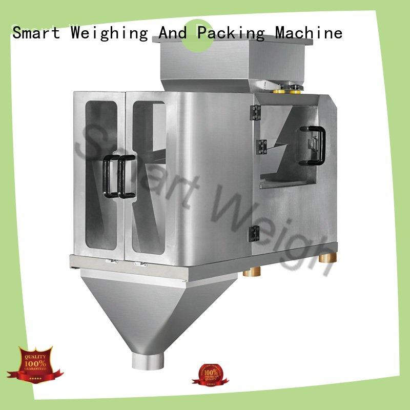 Smart Weigh easy-operating linear weighing machine for food packing