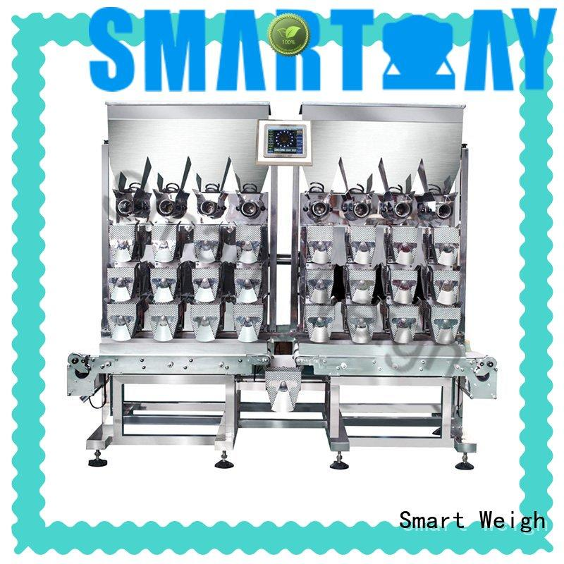 Smart Weigh easy-operating linear combination weigher factory price for food labeling