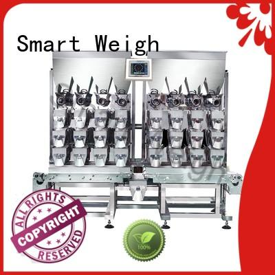 linear multihead weigher packing machine customization for food labeling