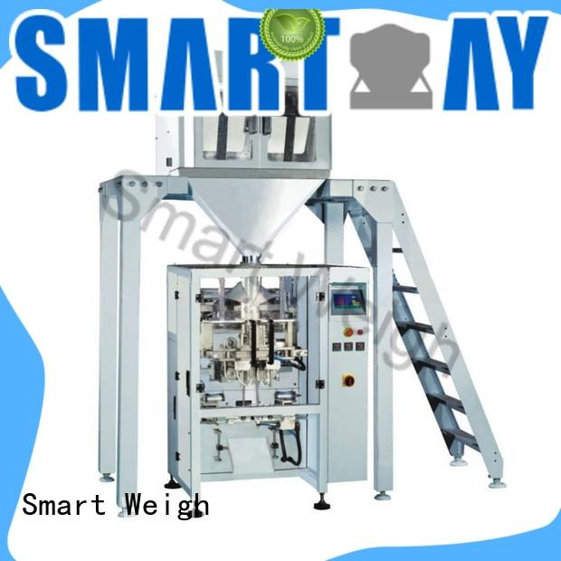 Smart Weigh bag packaging automation systems China manufacturer for food labeling