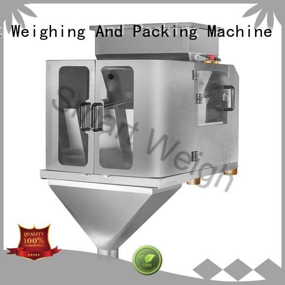 linear 2 head linear weigher weigh for food weighing Smart Weigh