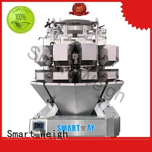 Smart Weigh screw bulk multi head weigher with good price for food weighing