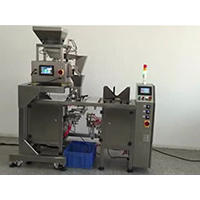 Economic 1 Head Weigher With One Station Premade Bag Packing Machine