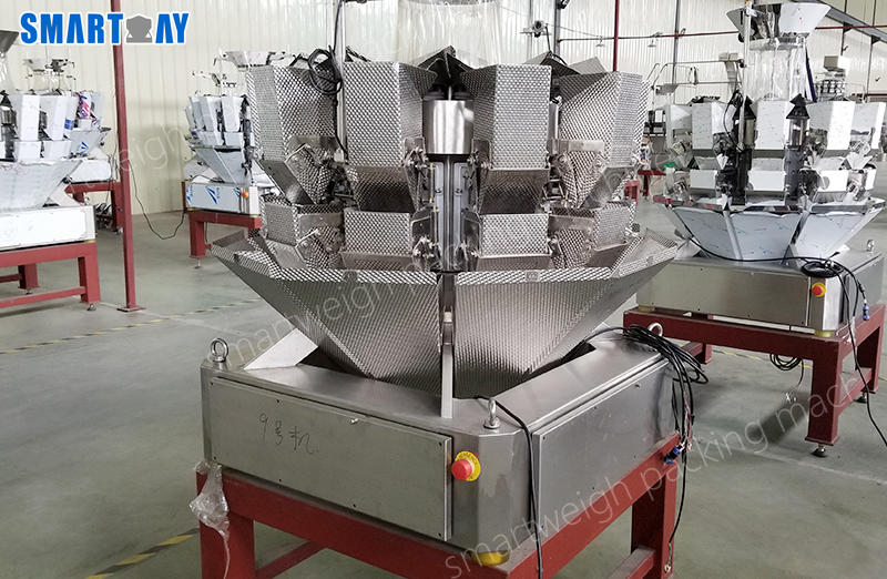 How to count pcs via Smart Weigh multihead weigher?