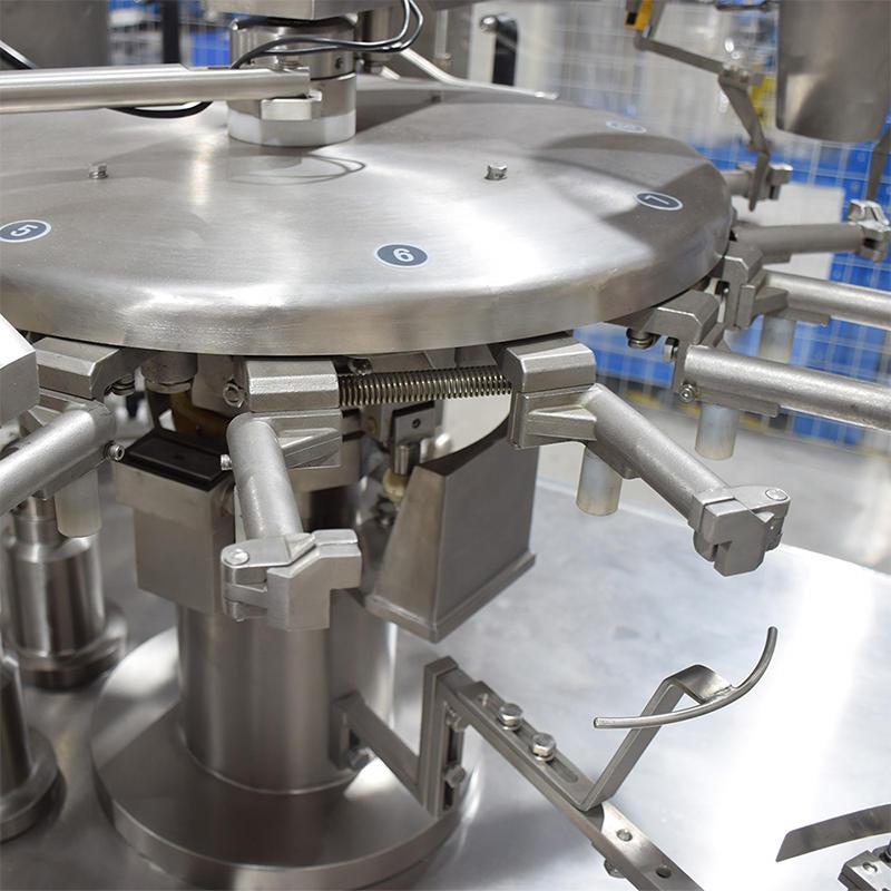Augar rotary Milk powder premade bag packing machine