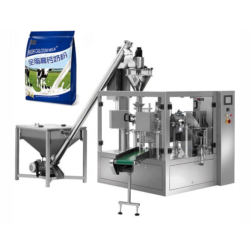 Máquina de embalaje de bolsas Permade de la leche rotativa de AUGAR
