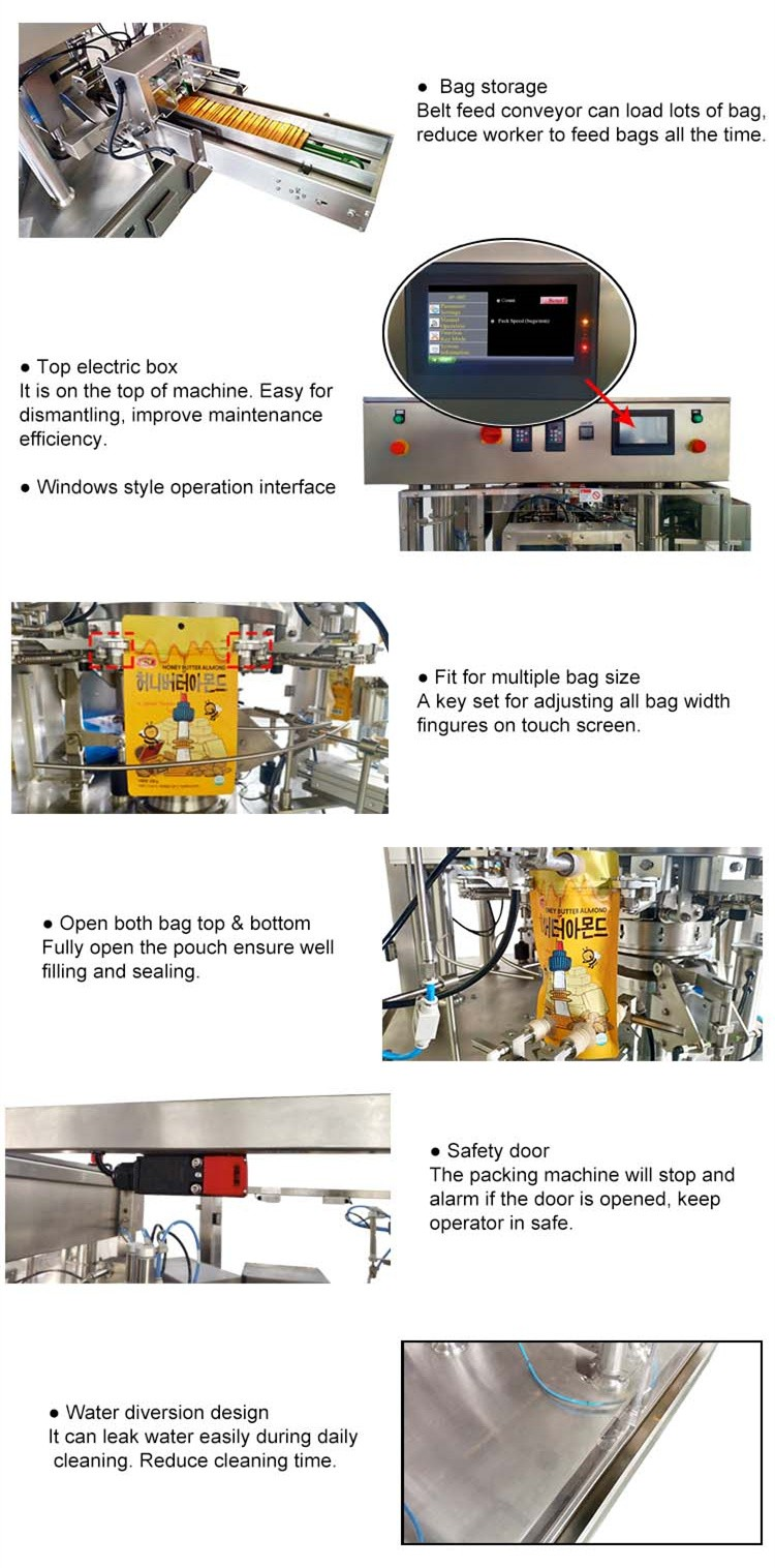 Smartweigh Pack high-quality powder sachet filling machine factory for meat packing-5