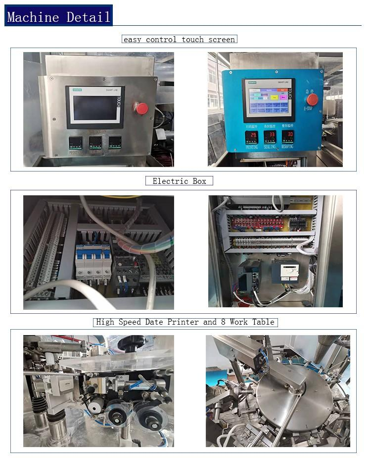 Smartweigh Pack quality pillow packing machine factory price for food labeling